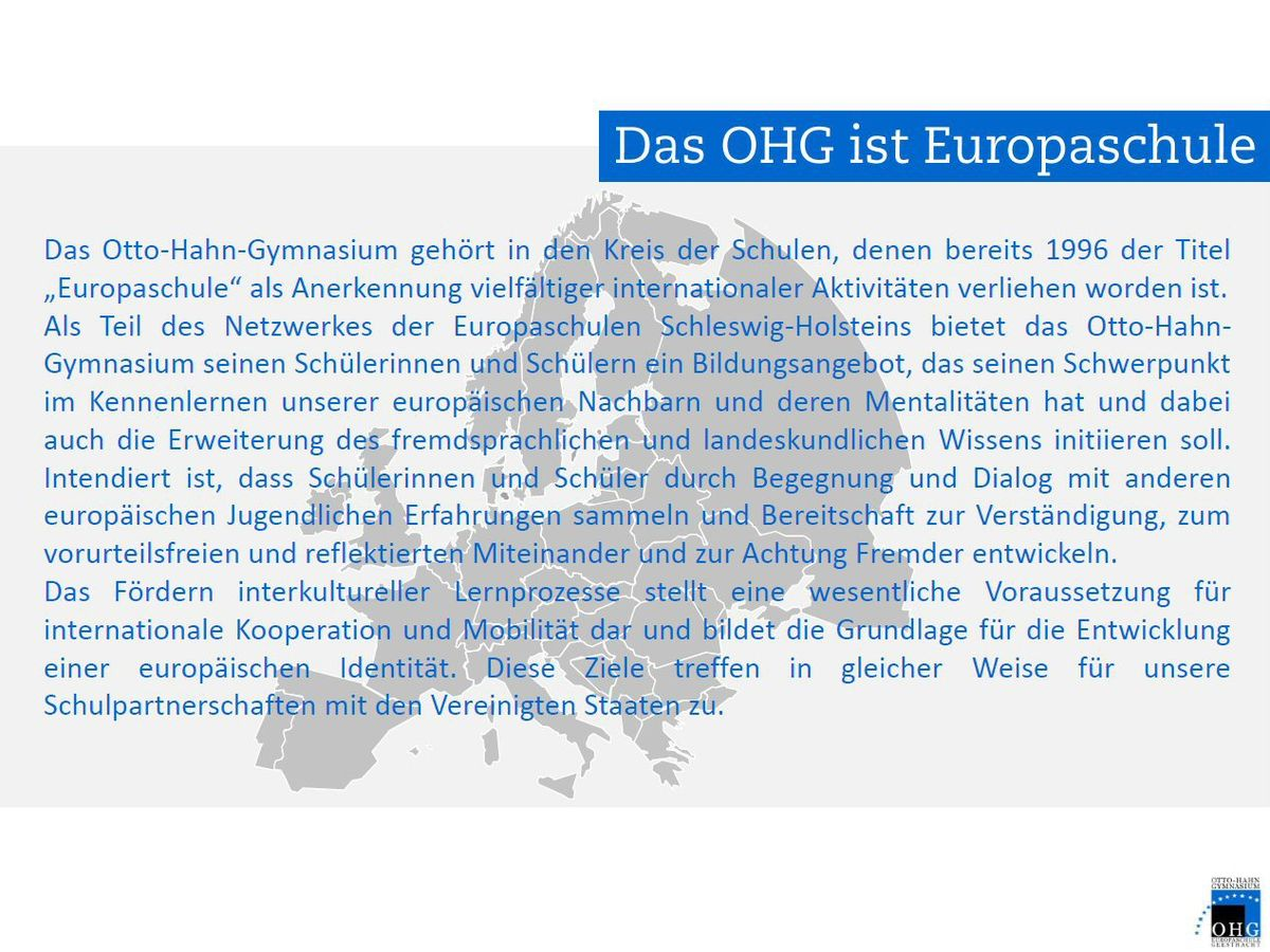 OHG-Partnerschulen-Start